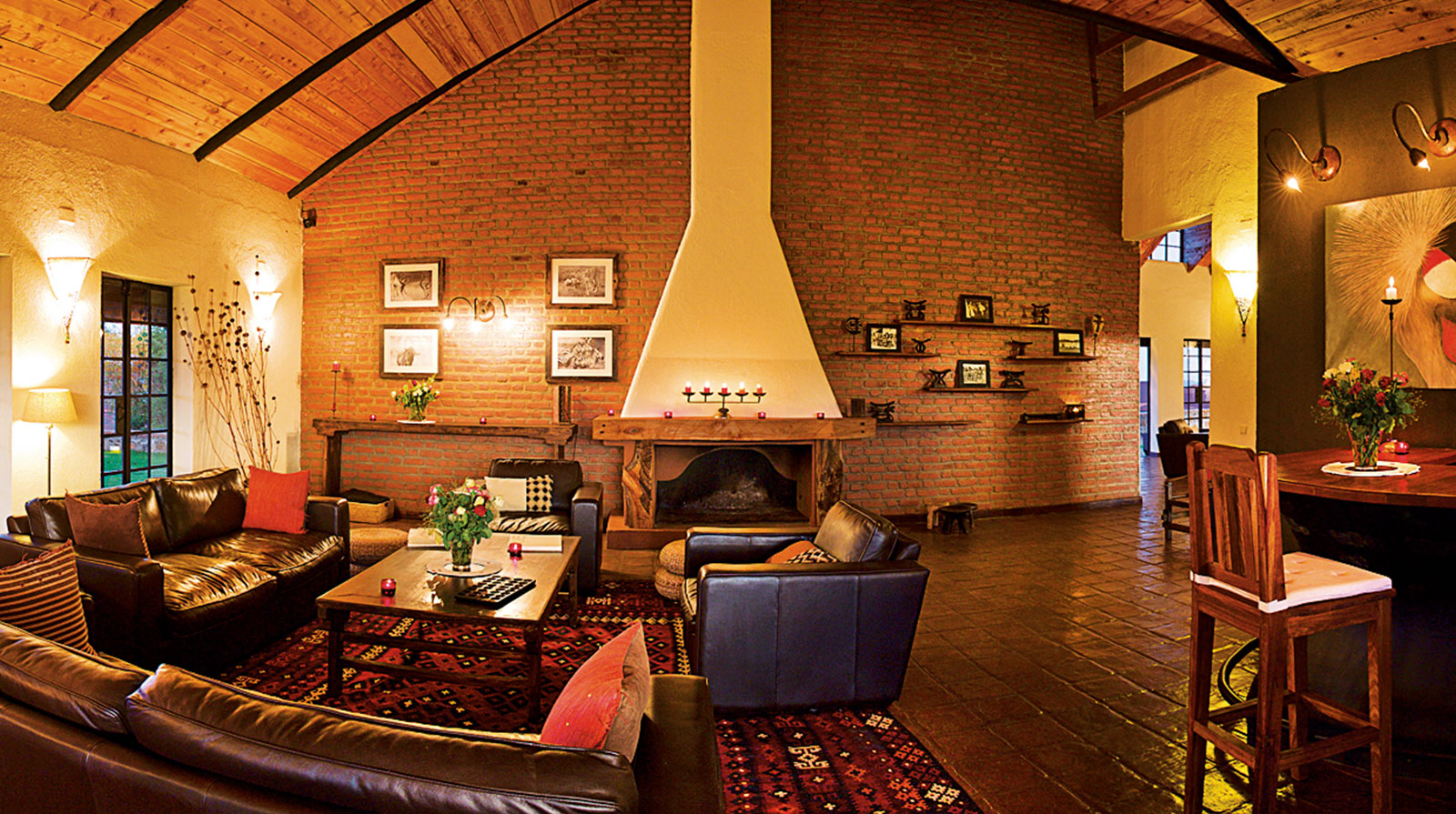 Bashay Rift Lodge - Warm atmosphere